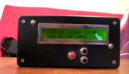 (Video) Reloj despertador casero con calculo matemático