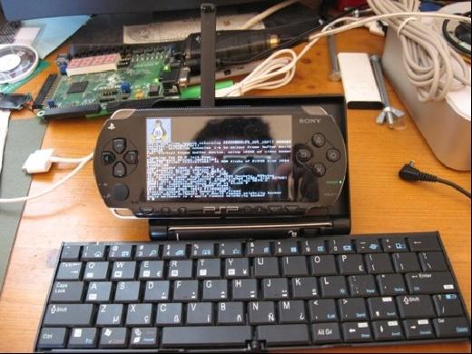 uCLinux en la PSP