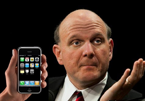 Steve Balmer se ríe del iPhone de Apple