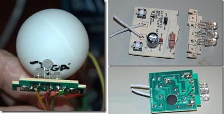 (Video) Pelota de Ping Pong con LED RGB y Arduino