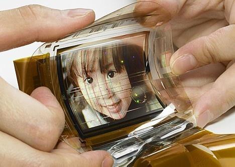 (Video) Sony desarrolla pantalla OLED flexible