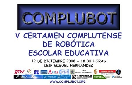 V Certamen Complutense de Robótica Escolar Educativa