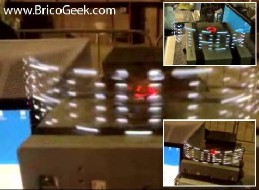 (Video) Arduino Wireless POV funcionando en la Arroutada 07