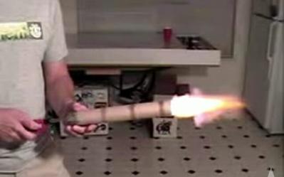 (DIY Video) Fabricate un cañon casero en 30 segundos