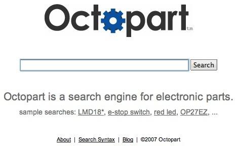 OctoPart: El buscador de componentes