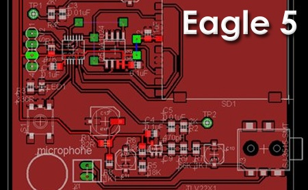 Ya está disponible Eagle 5 de Cadsoft