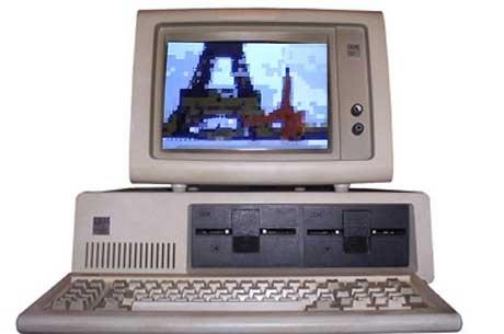 (Video) Demo a color con sonido en un IBM de 1980 a 4Mhz