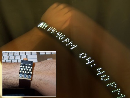Reloj de pulsera POV