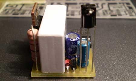 Control de intensidad de bombilla con mando de infrarojos