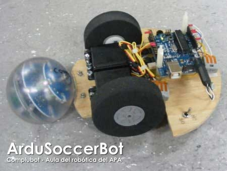 ArduSoccerBot: Robot controlado con Arduino
