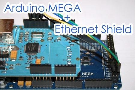Cómo hacer funcionar la Ethernet Shield con Arduino MEGA
