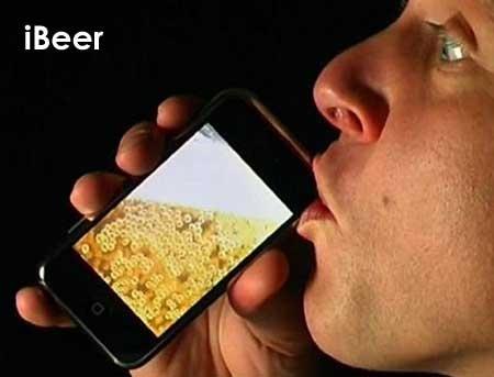 (Video) iBeer y iMilk para Apple iPhone