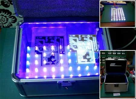 Como hacer una insoladora casera con LED UV