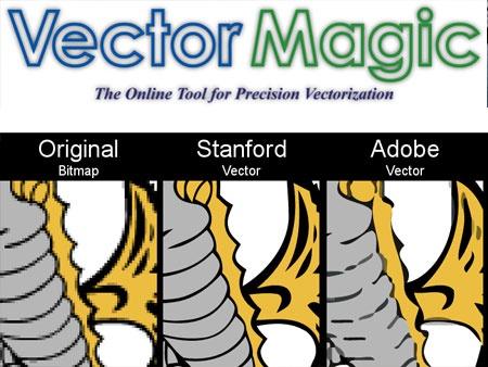 VectorMagic: Convierte imagenes en vectoriales