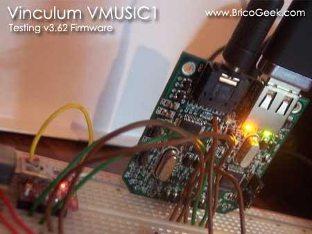 (Video) Probando el nuevo firmware para VMUSIC1