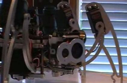 (Video) Robot Hexapod con reconocimiento facial