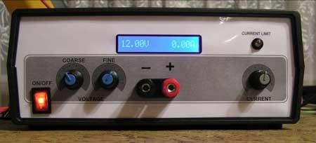 (DIY) Fuente de alimentación digital con AtMega8 y LCD