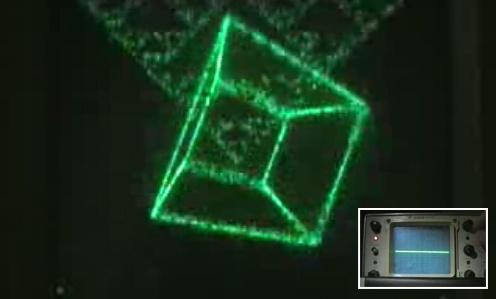 (Video) Youscope: La primera demo en un oscilloscopio