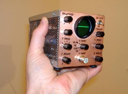(DIY) TinyScope: El osciloscopio casero con válvulas