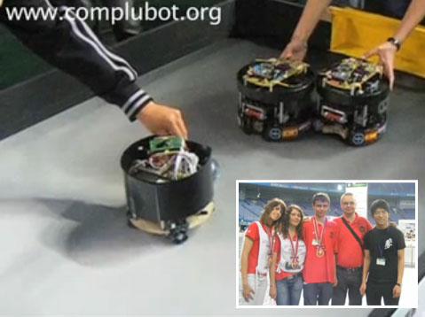 Complubot Soccer Team en la RoboCup Junior Japon 2009