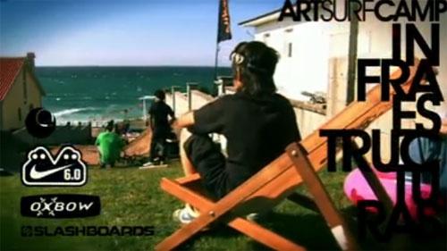 Aprende a Surfear con Art Surf Camp