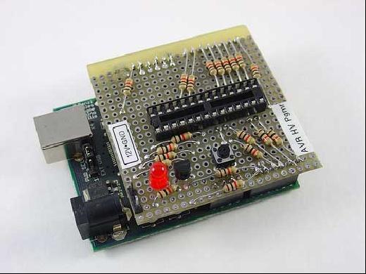 Programador AVR de alto voltaje con Arduino