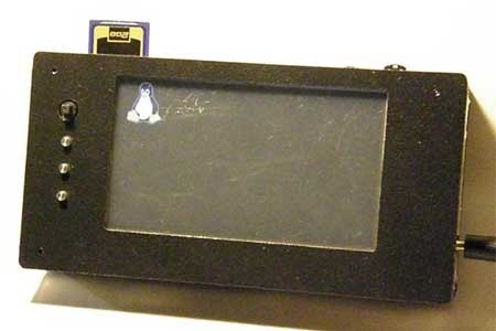 Dispositivo portatil con Linux basado en Beagle Board
