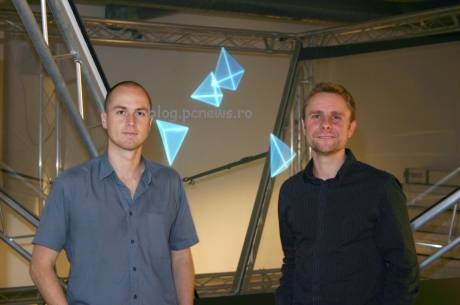 (Video) Cheoptics presenta su pantalla holográfica 360