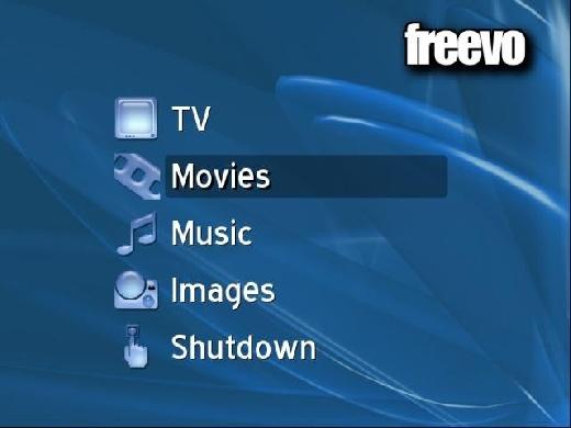 Freevo: El media Center para Linux
