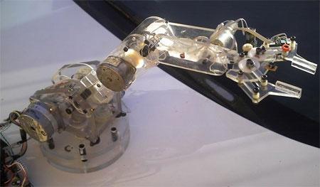 Brazo robot casero de 5 ejes y motores paso a paso