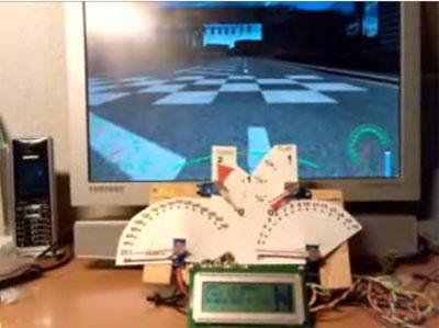 Controles reales de velocidad y vueltas para tu PC por USB