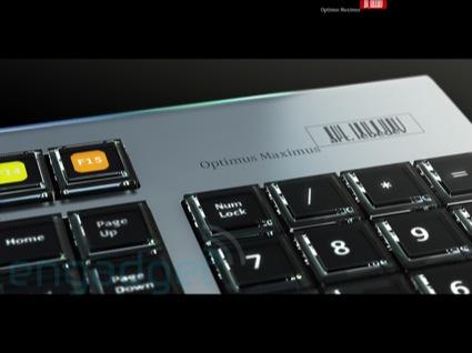 Review del teclado Optimus Maximus