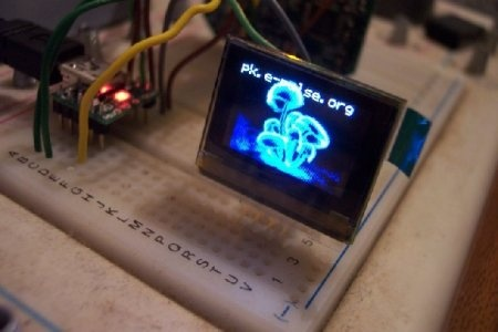 pK MP3 Player - VMUSIC1, MicroUSB y OLED-96 funcionando!!!