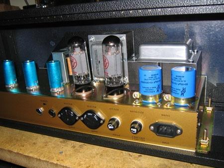 (DIY) Rachelle JCM800:Amplificador Marshall a vávulas casero