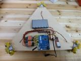 Plataforma robot con Arduino Bluetooth y Android
