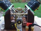 Motor V8 hecho con solenoides