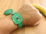 Reloj de pulsera PCB con Arduino