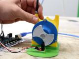 Turbina de Tesla impresa en 3D y tacómetro casero con Arduino
