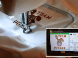 Máquina de coser automática controlada con Arduino