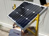 Tracker solar de 2 ejes con Arduino