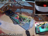 (Video DIY) BricoGeek Arduino Wireless POV (Parte 1)